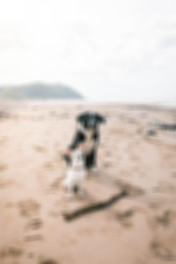 Steven & Mimi Minehead Beach