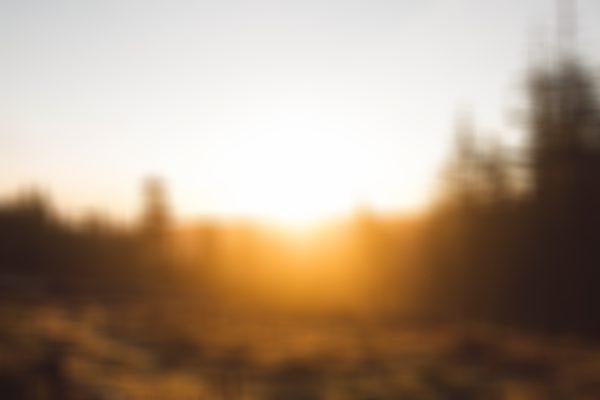 Sunrise over the Quantock Hills